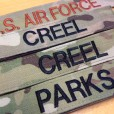 MultiCam Name Tapes
